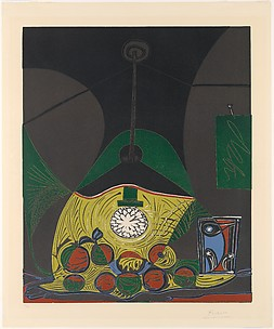 Still Life with Hanging Lamp