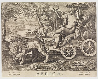 Africa from The Four Continents