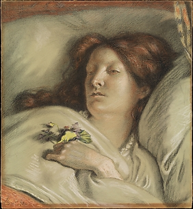 Convalescent, a Portrait of the Artist's Wife