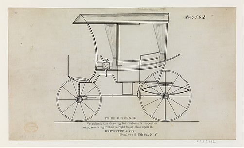 Design for Prairie Schooner: Station Wagon, No. 24162