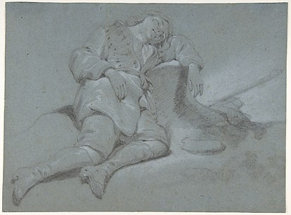 A Sleeping Shepherd Boy
