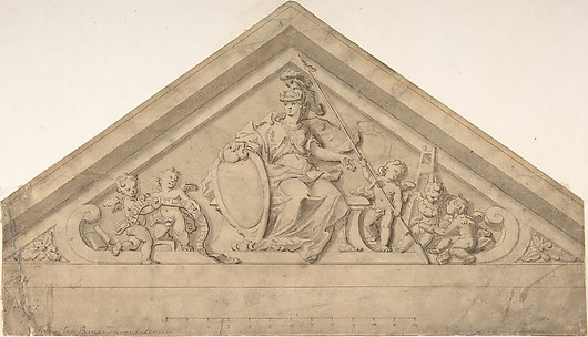Design for a Pediment