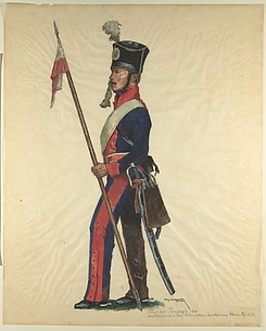 Prussian Military Costume: Towarzis Regiment 1806