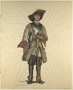 Military Costume: Cavalryman 1630