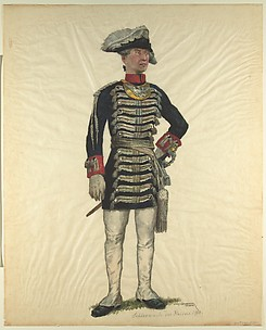 Prussian Military Costume: Emperor's palace guard 1918