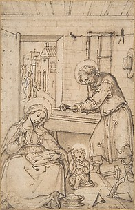 The Childhood of Christ, in the carpenter&#39;s shop