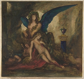 Sphinx in a Grotto (Poet, King and Warrior)