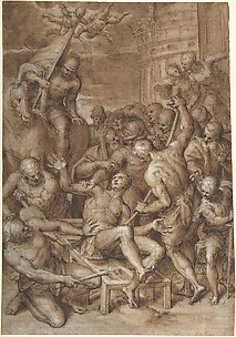 The Martyrdom of Saint Lawrence.