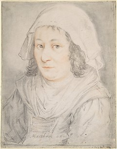 Half-figure of a Woman