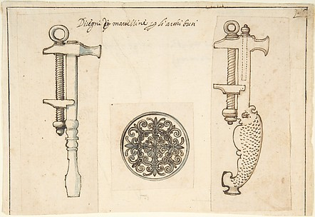 Design for Tools Relating to the Maintenance of Fire Arms