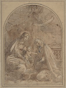 Virgin and Child with Saint Anna