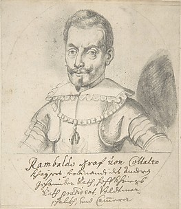 Portrait of Rambaldo, graf von Collalto