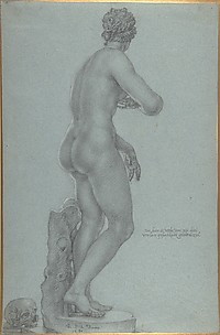 Venus de' Medici; view from the back