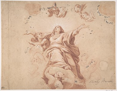 Assumption of the Virgin (after Carlo Maratta?)