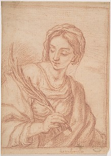 Virgin with a Palm Branch