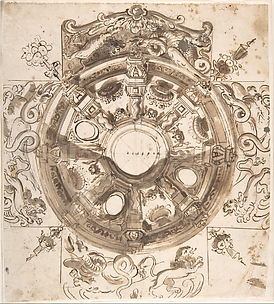 Study for a Ceiling Decoration