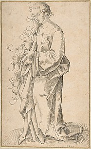 St. Barbara with a Chalice and Host