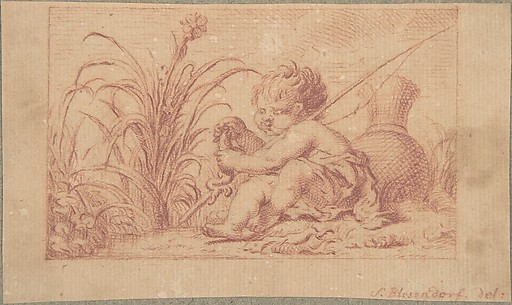 A Fishing Putto