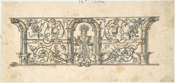 Ornamental design with Grotesques