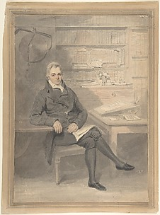 Portrait of a Man, Seated in Front of a Writing Desk