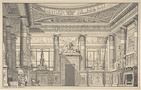 Design for an Egyptian-style Interior