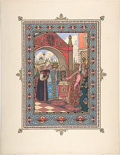 For &;maria morenva&; [tsarevich ivan at the castle of the falcon