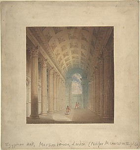 Egyptian Hall, Mansion House, London