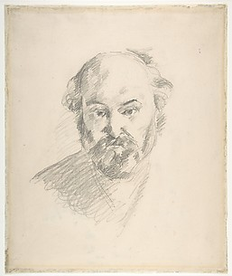 Portrait of the Artist (recto); Fragment of a Landscape Study (verso)