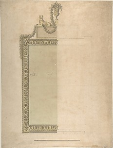 Design for a Pier-glass for Adderbury House, Oxfordshire, for the Duke of Buccleuch