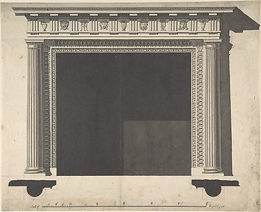 Design for a Chimney-piece, for the Saloon, Milton Park, Northamptonshire