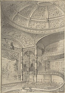 Interior of a theatre