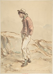 A Sailor Standing on the Shore