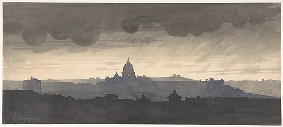 Saint Peter's Seen From the Pincio, Rome