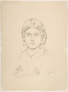Bust of a Gypsy Girl