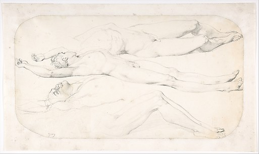 Studies for the Cadaver of Acron