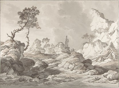 Landscape with a ruin near Mödling