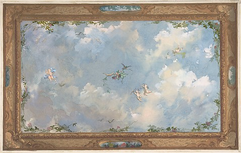 Design for Salon Ceiling, Hôtel Candamo