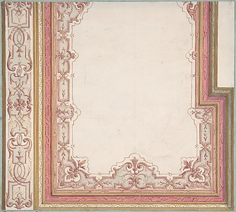 Ceiling Design for Madame Hope's Bedroom
