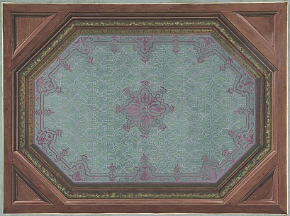 Design for Ceiling, Hôtel Hope