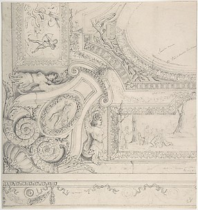 Design for Ceiling at Fontainebleau