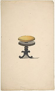 Design for a Piano Stool