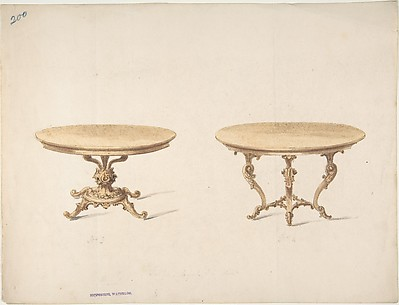 Designs for Two Round Tables