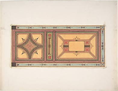 Pompeiian Design for Paneling