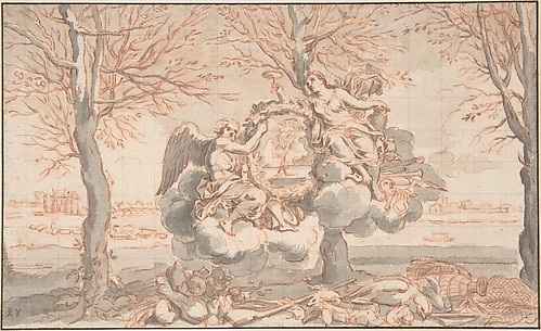 Allegory of Winter, after Sébastien Le Clerc