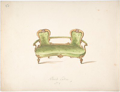 Design for Albert Settee