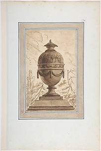 Study for a Vase in a Suite of Vase Designs