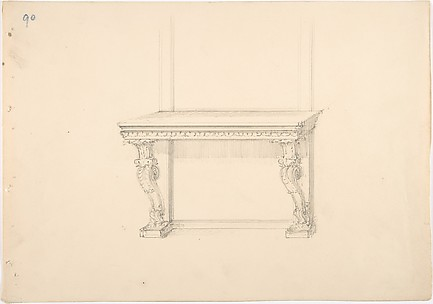 Design for a Pier Table