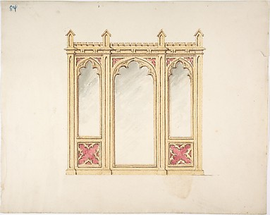Design for Gothic Tracery and Paneling