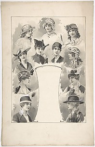 Designs for Eleven Women's Hats