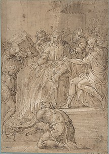 The Cumaean Sibyl before Tarquin the Proud